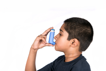 indian child asthma
