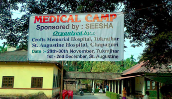 B0415-036 medical camp sign