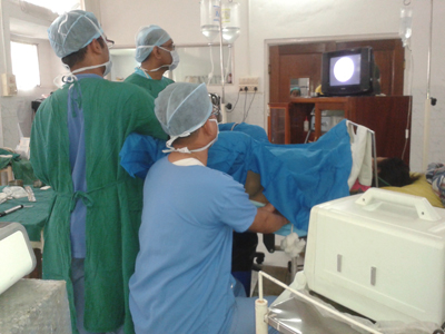 ultrasound guided lithotripsy - dr g